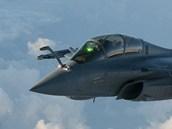 Letoun Rafale francouzských vzdušných sil