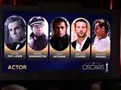 Nominace na Oscara - nejlepší herec