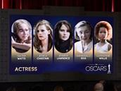 Nominace na Oscara - nejlepší herečka