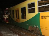 Ve Vysokém Mýtě vykolejil vlak