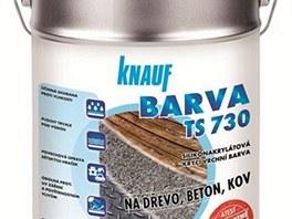 Knauf TS Colors - barvy pro dřevo, beton i kov