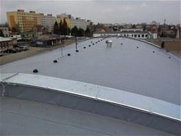 Plochá střecha firmy Dvořák