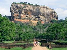 Sigirija, posvátné buddhistické místo ve středu Šrí Lanky