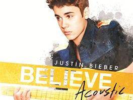 Justin Bieber na obalu alba Acoustic