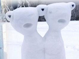 Pustevny budou zdobit sochy z ledu.