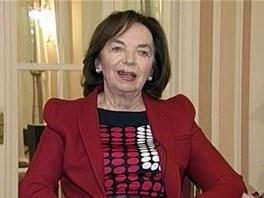 Livia Klausová podpořila Zemana