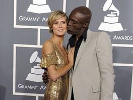 Heidi Klumová a Seal - Grammy za rok 2010