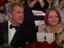 Fosterovou podpo�il jej� kamar�d Mel Gibson.