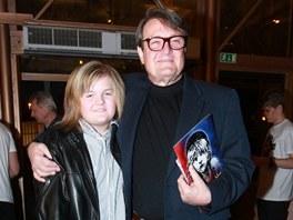 Artur Štaidl s otcem