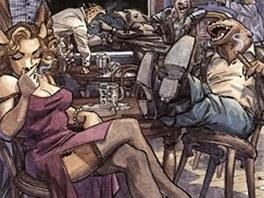 Z komiksu Blacksad