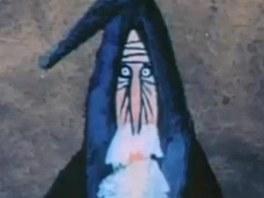 Gandalf v pod�n� Adolfa Borna ve filmu Gegea Deitche The Hobbit (1966)