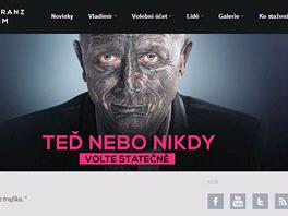 Oficiální stránka kampaně Vladimír Franz Prezidentem