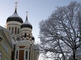 Chrám Alexandra Něvského připomíná na neblahou historii.