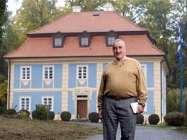 Karel Schwarzenberg. Sou�asn� ministr zahrani�� a p�edseda TOP 09 je podle