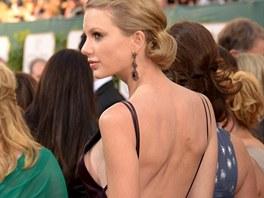 Taylor Swiftov� si pro jistotu vzala nalepovac� podprsenku.