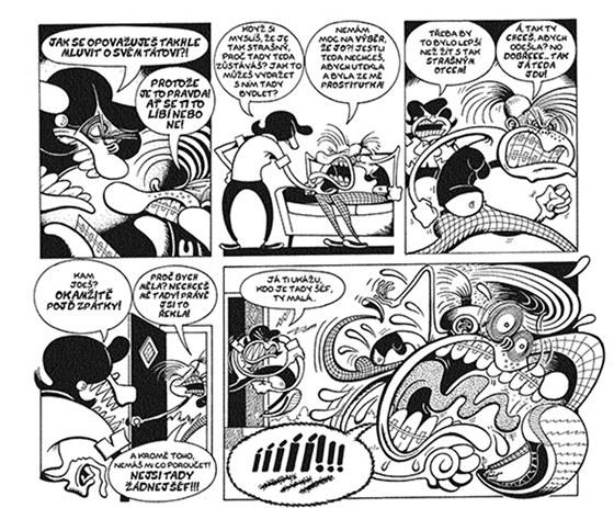 Ukázka z komiksu Bradleyovi