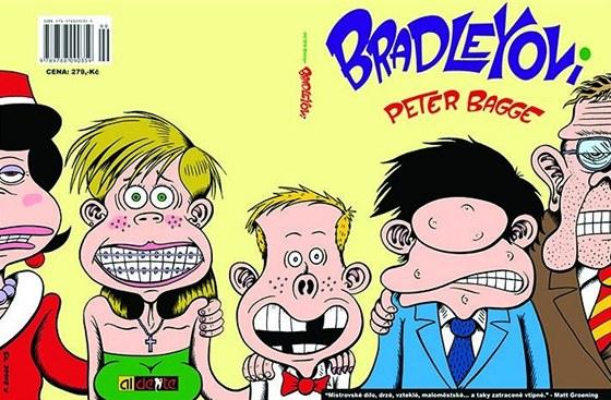 Obálka českého vydání prvního dílu z komiksu Bradleyovi