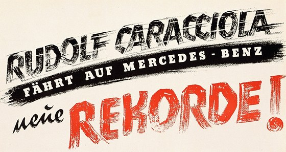 Rudolf Caracciola zajel rekordních 432,692 km/h 28. ledna 1938.