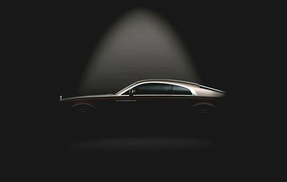 Nejsilnější vůz značky Rolls-Royce Wraith je zatím zahalený tajemstvím.