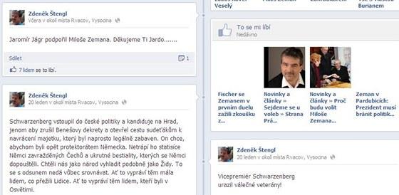 Profil prvního místopředsedy Zemanovců Zdeňka Štengla