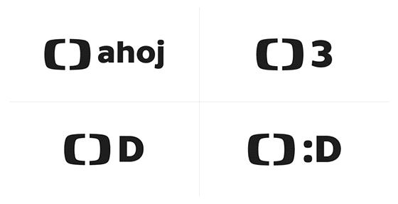 Tato loga pro nový dětský kanál zaregistrovala Česká televize zaregistrovala u