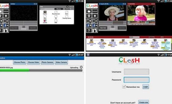 Clesh video editor je cloudová aplikace sklientem pro tablety a smartphony