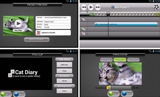 Saplikací Video SlideShow Maker si můžete přímo vtabletu vytvořit efektní