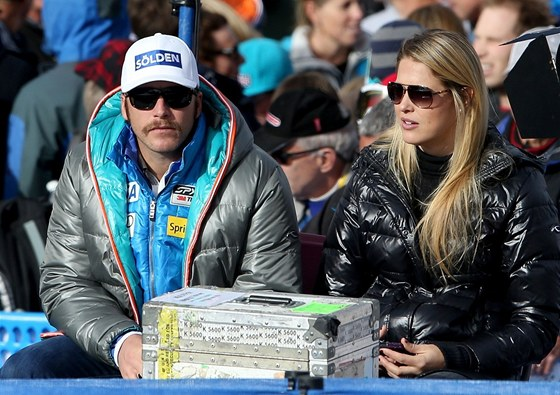Bode Miller s manželkou
