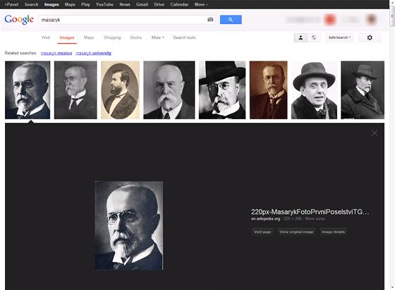 Nové procházení obrázků v rámci Google Images