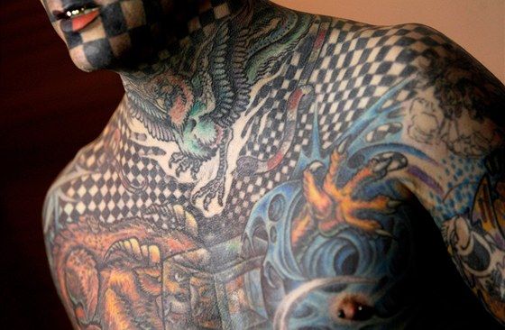 Matt Gone a jeho tetov�n�