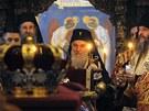 Ostatky posledního krále Jugoslávie Petra II. Karadjordjeviče byly v úterý...