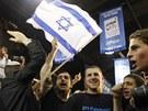 �lenov� Netanjahuovy strany Likud slav� volebn� �sp�ch.
