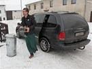 Majitel místní hospody v Novém Veselí přivezl ochrance prezidenta kávu. Ta ale