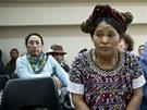 Elena de Paz, jedna z žen, která pochází z oblastí, kde řádili guatemalští