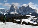 Alpe di Siusi je největší pastvina v Alpách.