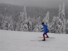První běžeckou a  sjezdovou etapou v okolí Pradědu odstartoval v Jeseníkách