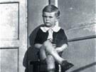 Od dvou let vyrůstal Miloš Zeman se svou matkou a babičkou v prvním patře...