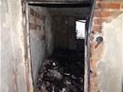 Ničivá síla plamenů v jednom z bytů DPS Jičínská v Příboře na Novojičínsku byla
