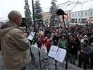 T�eb��sk� rod�k a herec Old�ich Navr�til organizoval pond�ln� setk�n� s ob�any