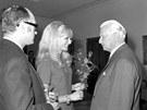 V září roku 1968 přišla na Pražský hrad za prezidentem Svobodou i zpěvačka