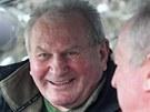 Jeden z největších Zemanových kamarádů Jiří Růžička.