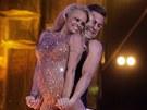 Pamela Andersonová předvedla svůj tanec na ledě v nizozemské televizi.