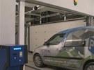 Automatick� parkovac� d�m ve Slan�m