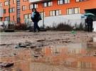 P�st na oko - Modern� klinika vypad� v Rokycanov� ulici jako z�mek v ba�in�.