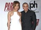 Jennifer Lopezová a Casper Smart (24. leden 2013)