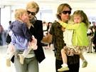 Nicole Kidmanov�, jej� man�el Keith Urban a dcery Sunday Rose a Faith (22.