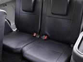 Mitsubishi Outlander - třetí řada sedadel