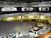 Rekordní speciál Mercedes-Benz W125 je dnes k vidění v muzeu automobilky ve