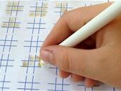 Neviditelný inkoust, zahraj si piškvorky
