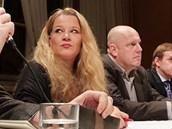 Ivana Svobodová (Respekt) a Karel Škrabal (MF DNES) moderují Hyde Park Zelňák.